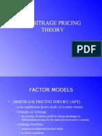 Arbitrage Pricing Theory