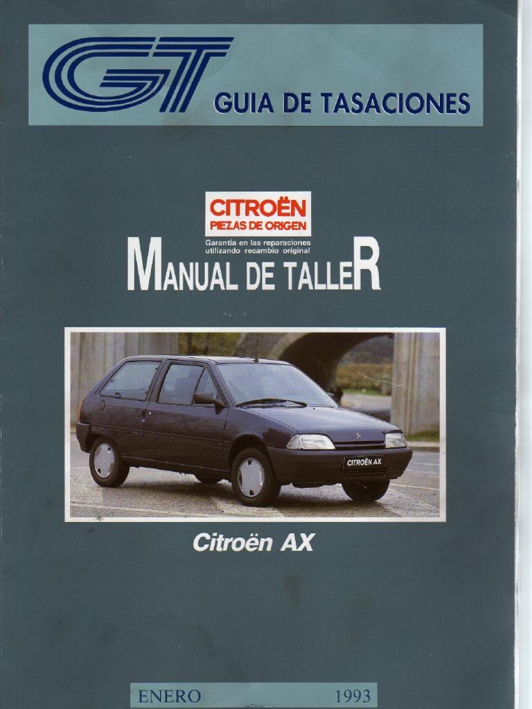 manual de taller citroen ax pdf rh es scribd com