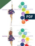 Pantone Fcr Spring 2013