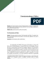 Postestructuralismo y Politica