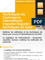 Techniques Commerce International
