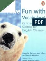Fun With Vocabulary