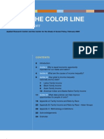 Check the Color Line - Income Report