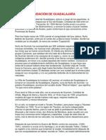Fundacion de Guadalajara