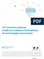 concour nationale technologie innovante palmares 2012