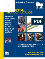 AL FBR3 Fiber Optics Catalog