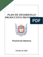 Plan Productivo Provincial