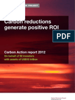 CDP Carbon Action 2012