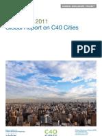 CDP C40 Cities Global Report 2011