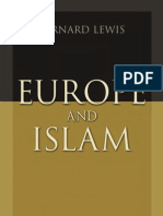Europe and Islam by Bernard Lewis