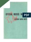 Official Mixers Manual
