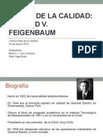 Gurus de La Calidad Armand v. Feigenbaum