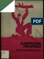 A la Revolución por la Poesía. Roque Dalton.