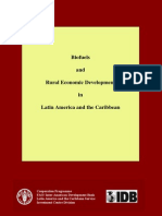 IDB, Biofuels and Rural Economic Development in Latin America and the Caribbean, 2010