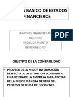 Analisis Basico de Estados Financieros 2 -2010