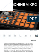 Maschine Mikro Mk1 Manual Spanish