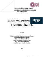 Manual Fisicoquimica