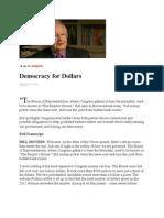 17-02-13 Democracy for Dollars