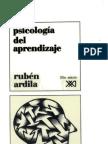 Libro Psicologias Del Aprendizaje