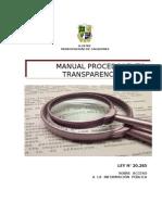 Manual Procedimiento Ley Transparencia