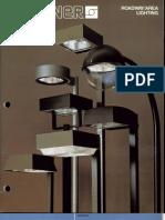 Sterner Lighting Area and Roadway Series Brochure 1981