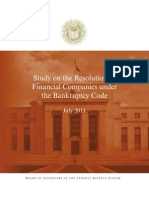 Bankruptcy Financial Study 201107