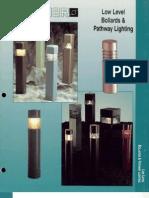 Sterner Lighting Bollards and Pathway Brochure 1995
