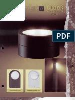 Sterner Lighting Clock Series Brochure 1995