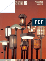 Sterner Lighting Decorative Post Tops Brochure 1982