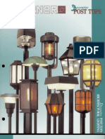 Sterner Lighting Decorative Post Tops Brochure 1993