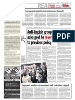 TheSun 2009-02-18 Page04 Anti-English Group Asks Govt to Revert to Previous Policy