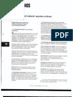 2003 La flexibilidad laboral apuntes críticos