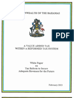 White Paper- Tax Reform