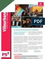 La Lettre des militants socialistes de Villeurbanne