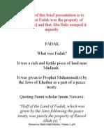 (No Justice ) Baag e Fadak