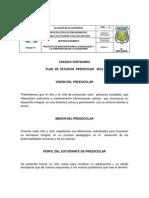 Plan de Estudios Transicion 2013