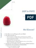 OOP in PHP5