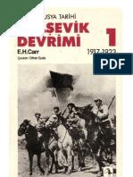 Edward Hallett Carr - Bolsevik Devrimi
