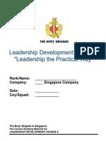 Leadership Training - The Boys' Brigade Singapore