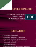 agricultura romaniei