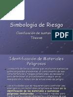 Simbologia de Riesgo Clasificacion de Sustancias Toxicas