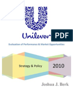 Unilever (Strategy & Policy)