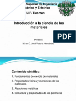 Introduccion a La Ciencia de Los Materiales