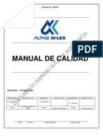 Manual de Calidad Rev 012
