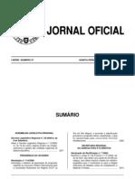 Decretos Legislativos Regionais nº35-2006-A, de 6 de setembro