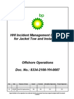 8334-2100-YH-0007-B1 Incident Management Link Plan for Offshore