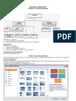 Guias Nueva de Informatica Power Point Organigrama