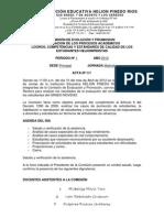 Acta de Comision de Evalucaion 1p 2012