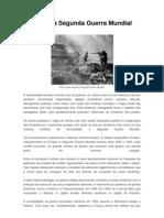 Resumo Da Segunda Guerra Mundial