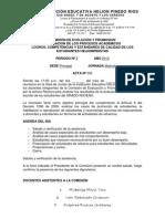 Acta de Comision de Evalucaion 2p 2012
